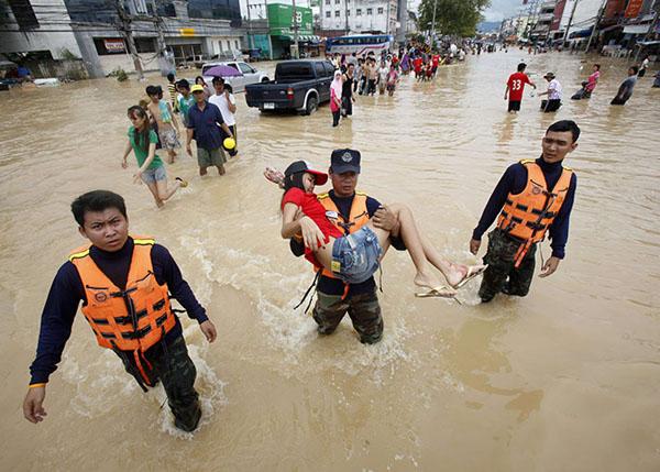 น้ำท่วม ดวงเมือง 2554 - 2555